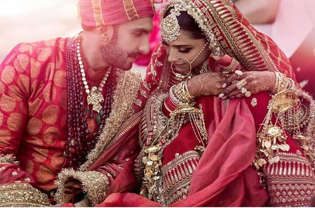 Deepika and Ranveer marriage