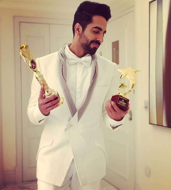 Ayushmann Khurrana with award